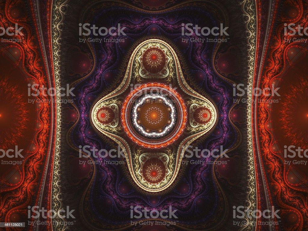 Grand julia fractal royalty-free stock photo