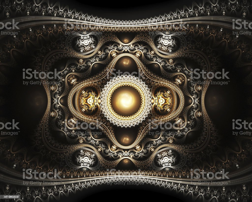 Grand julian fractal royalty-free stock photo