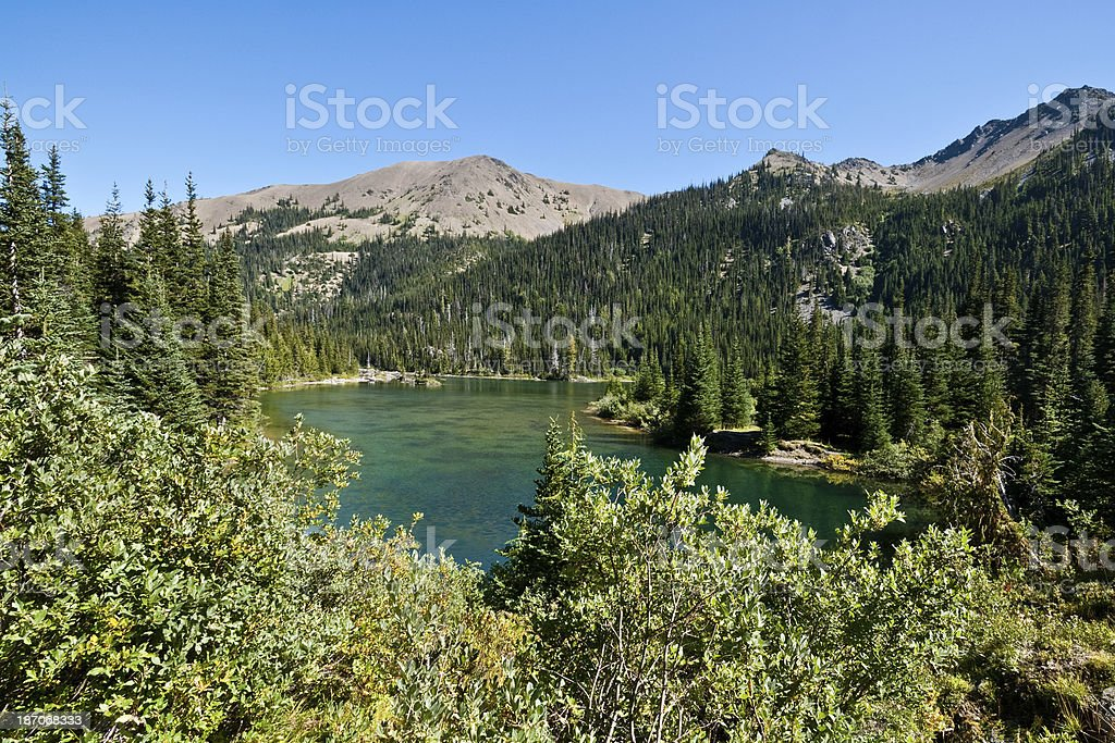 Grand Lake royalty-free stock photo