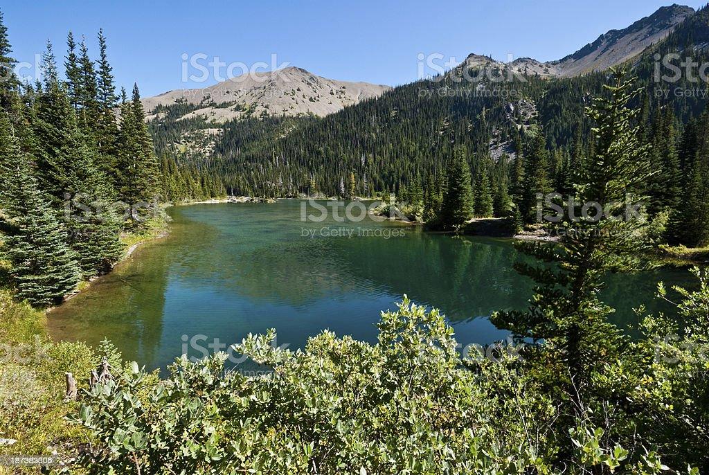 Grand Lake royalty-free stock photo