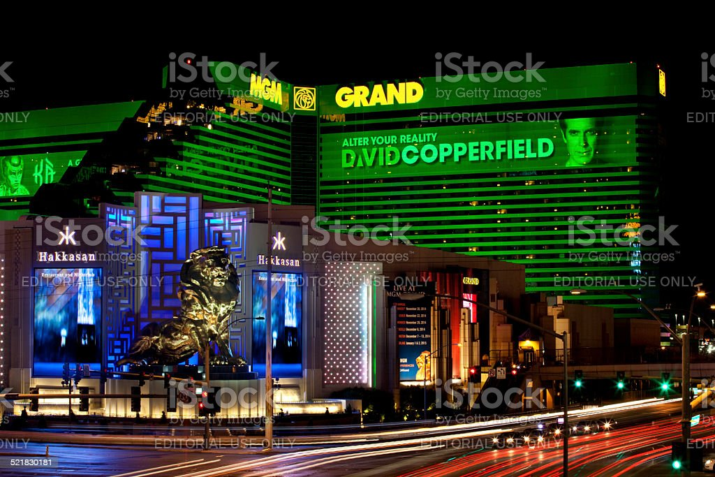 MGM Grand Las Vegas stock photo