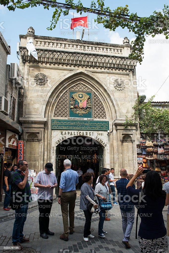 Grand Market in Istanbul, Turkey royalty-free stock photo