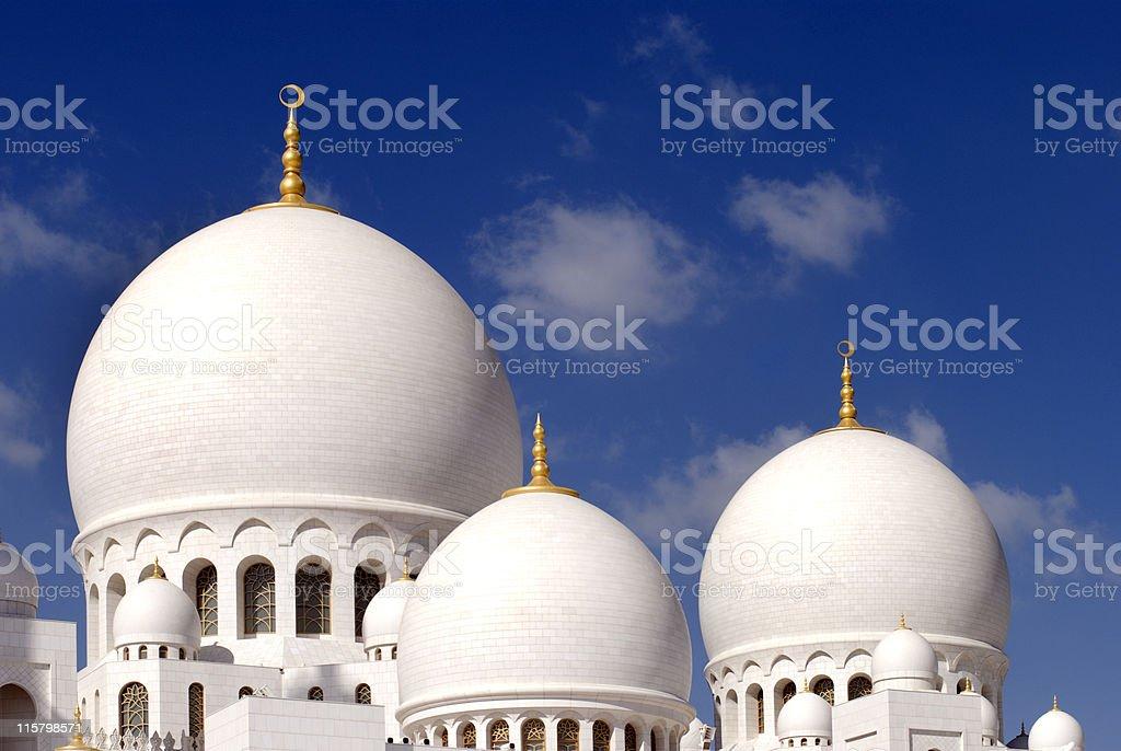Grand Mosque - Abu Dhabi royalty-free stock photo
