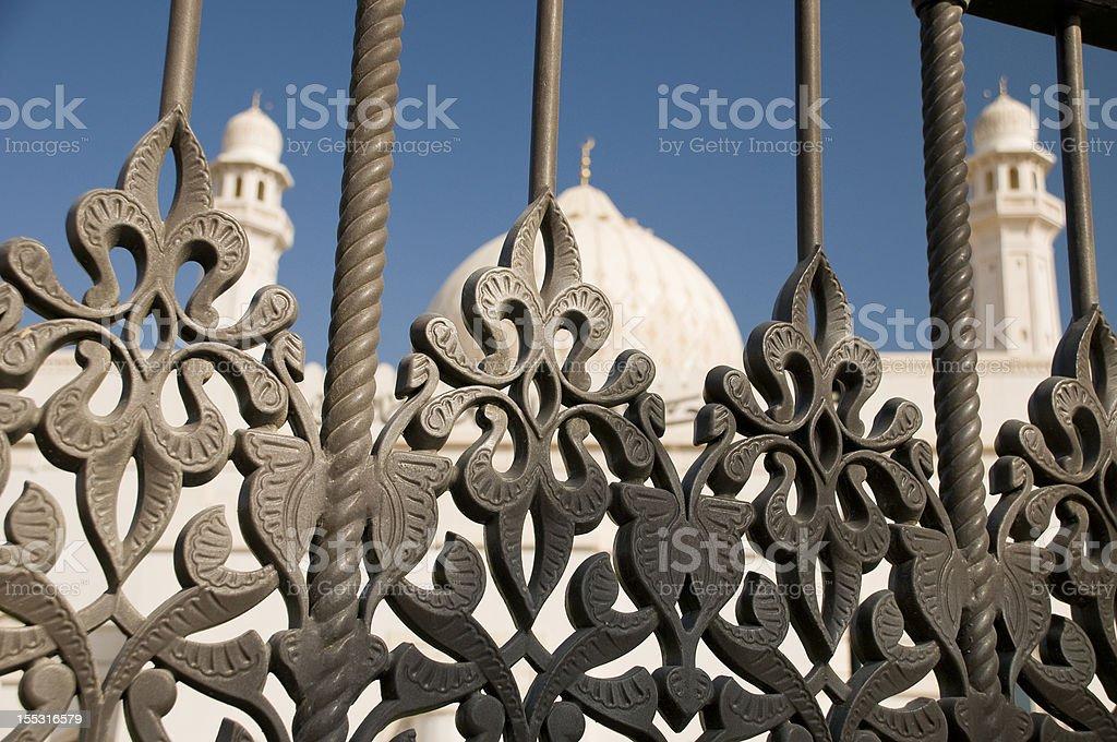 Grand Mosque in Salalah, Oman royalty-free stock photo