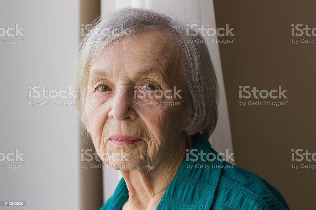 grand mother stock photo