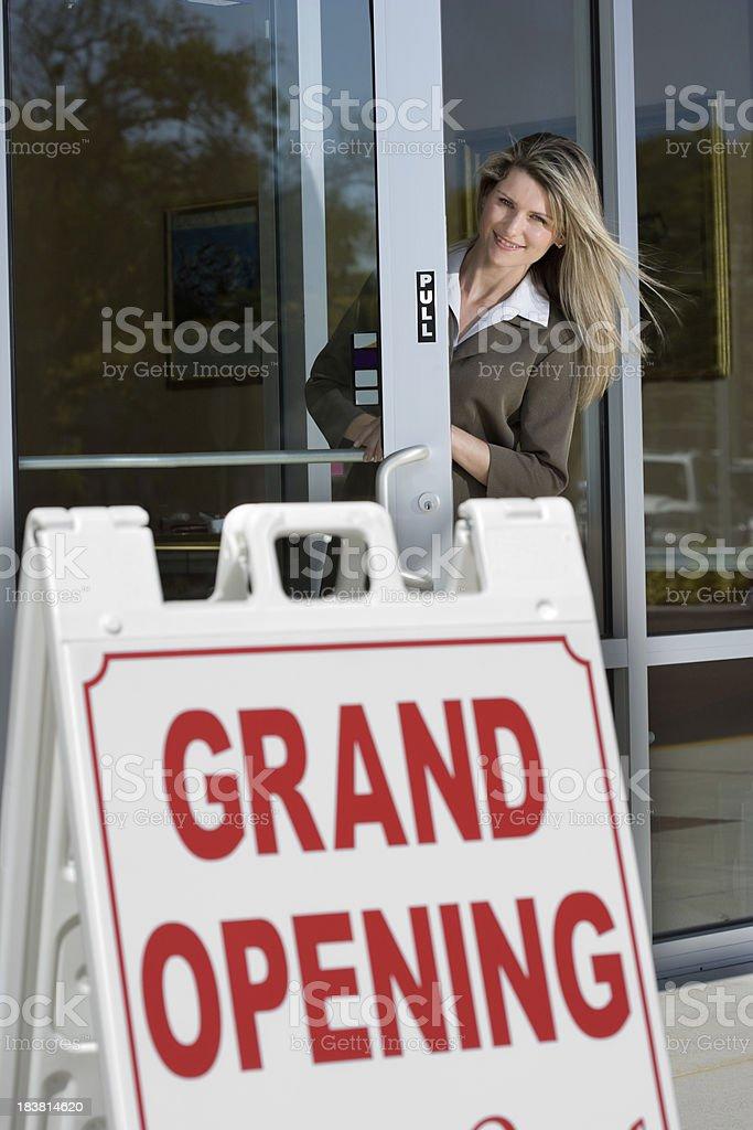 Grand Opening stock photo