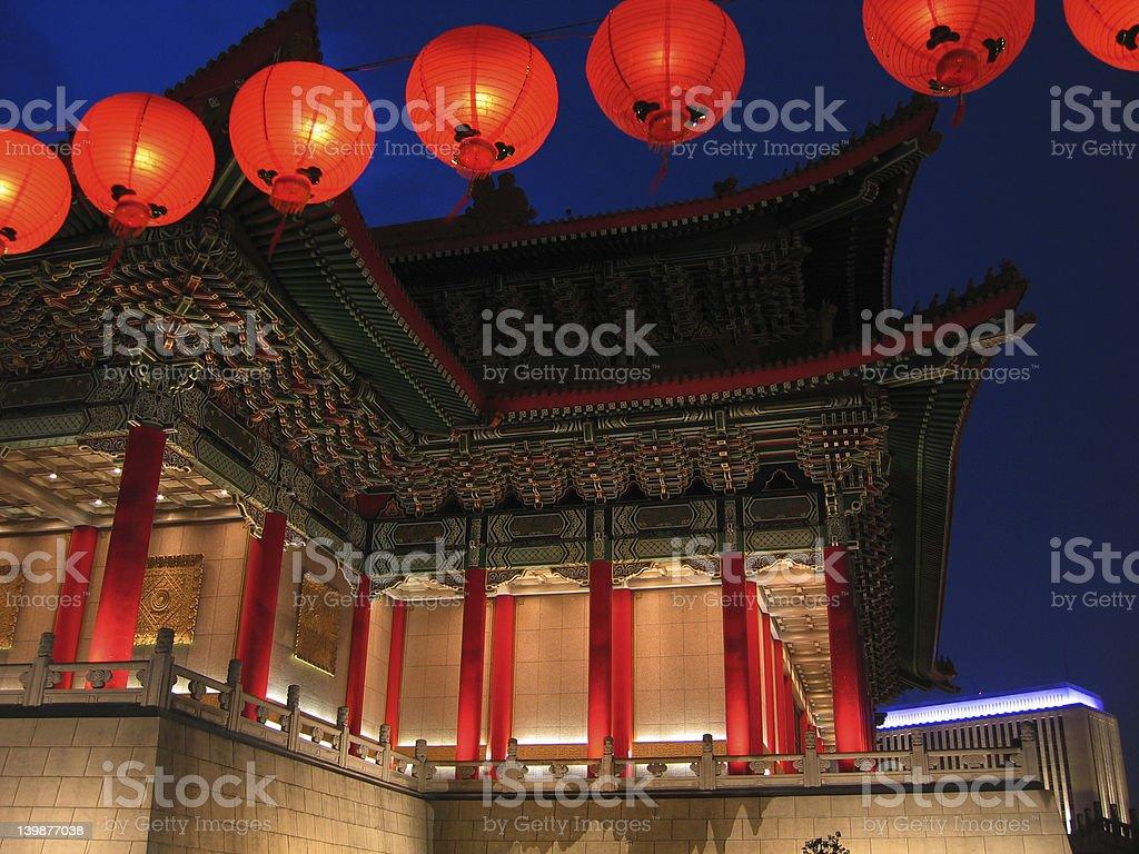 Grand Opera theater, Taiwan-Taipei stock photo