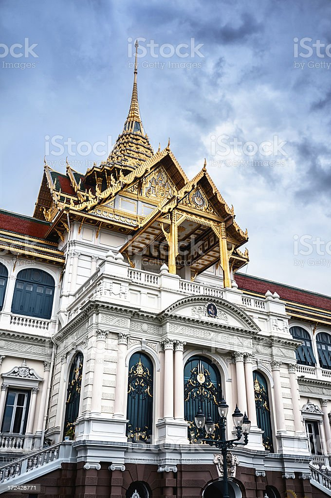 Grand Palace and Wat Phra Kaew Temple royalty-free stock photo