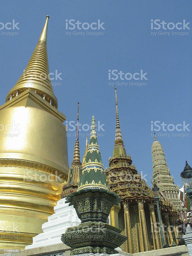 Grand Palace, Bangkok 11 royalty-free stock photo