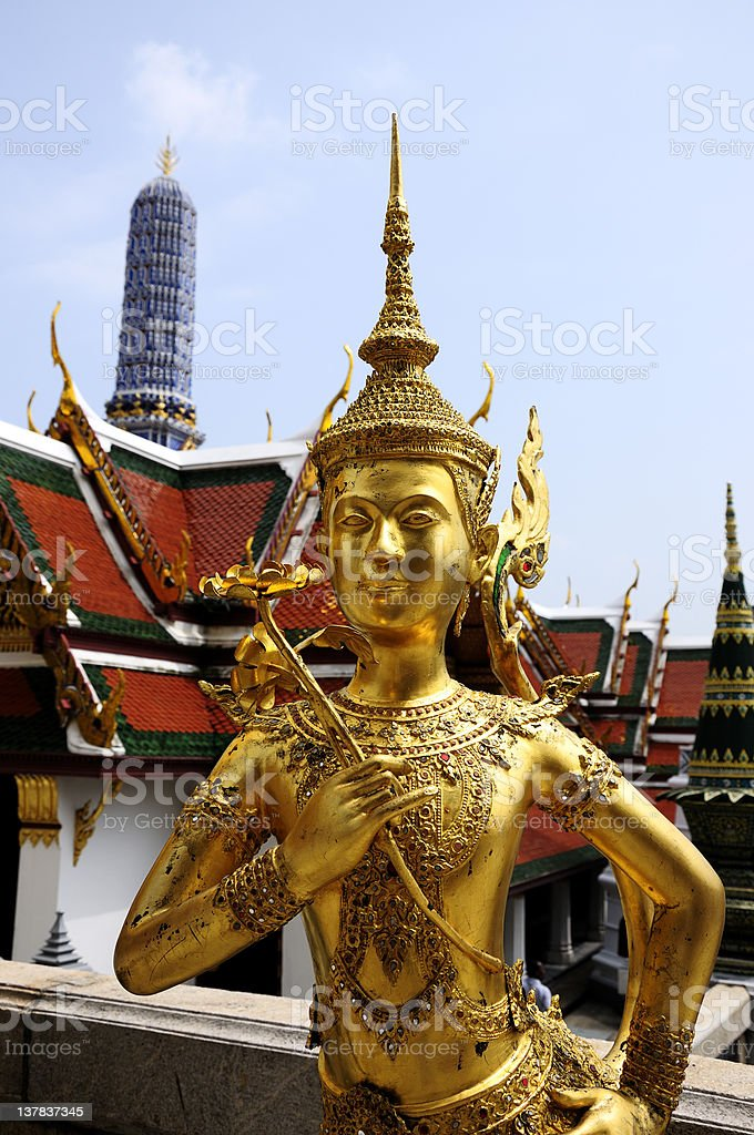 Grand Palace, Bangkok royalty-free stock photo