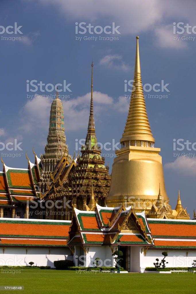 Grand Palace, Bangkok. royalty-free stock photo