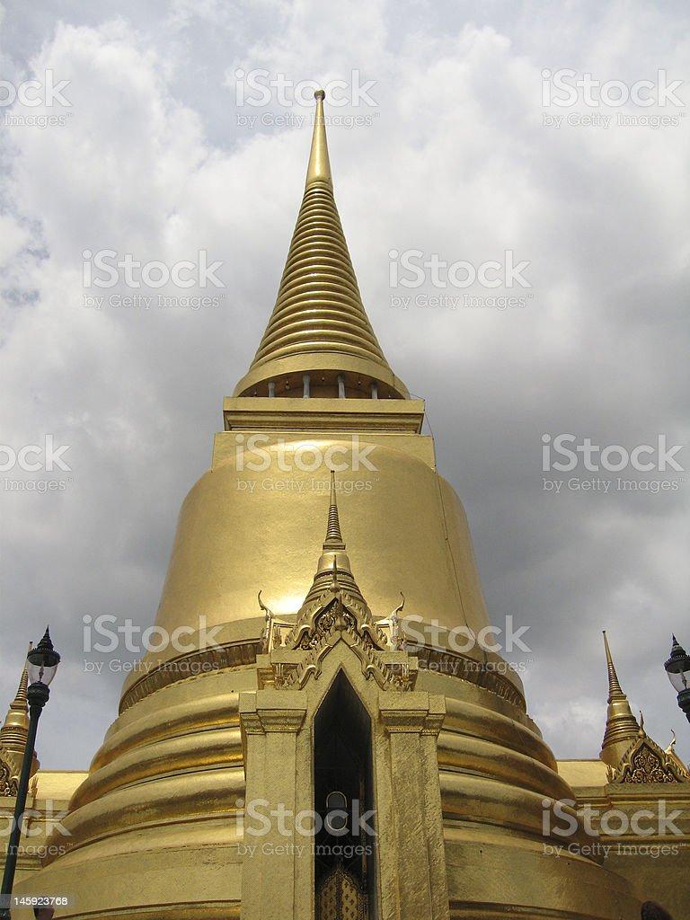 Grand Palace Bangkok Thailand royalty-free stock photo