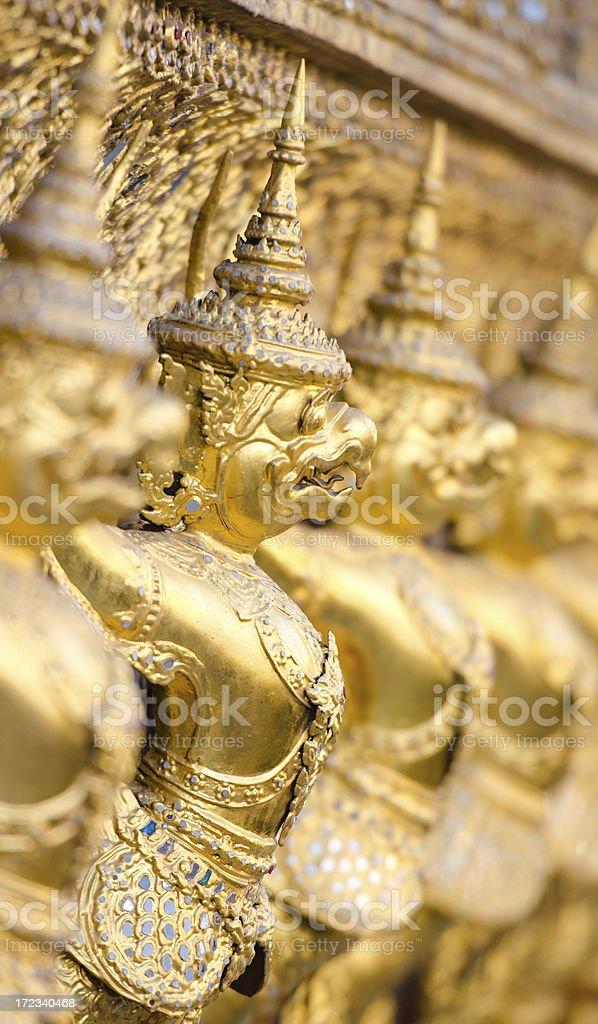 Grand Palace - Bangkok, Thailand royalty-free stock photo
