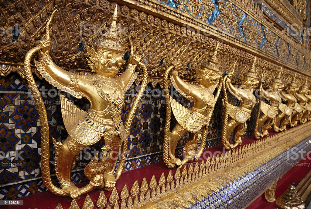 Grand Palace, Bangkok, Thailand royalty-free stock photo