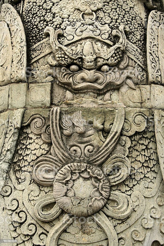 grand palace detail royalty-free stock photo