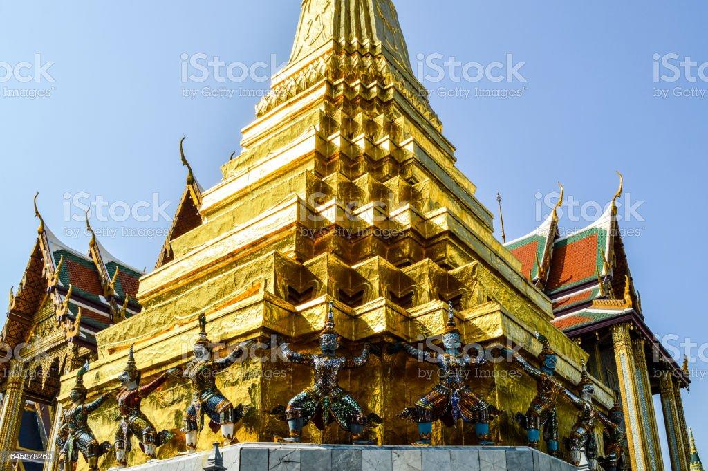 Grand Palace in Bangkok, Thailand stock photo
