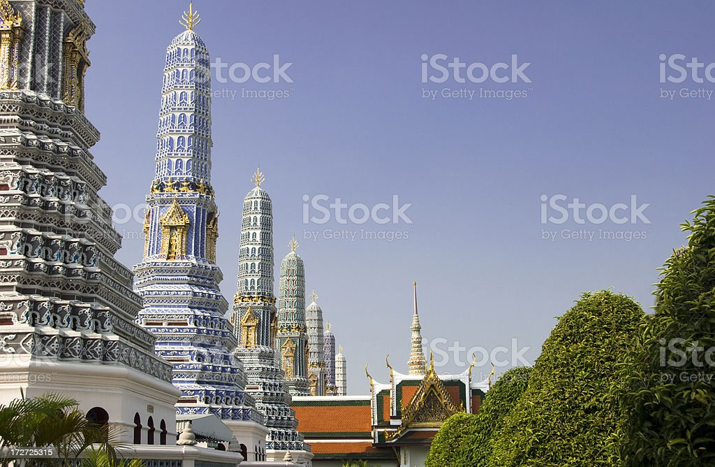 Grand Palace in Bankok, Thailand royalty-free stock photo