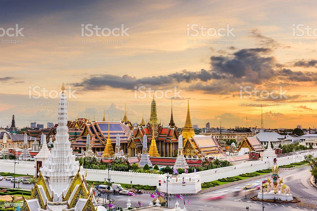 Grand Palace of Thailand stock photo
