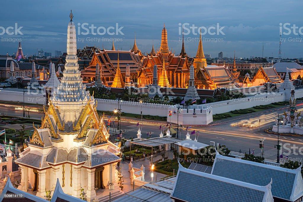 Grand palace stock photo