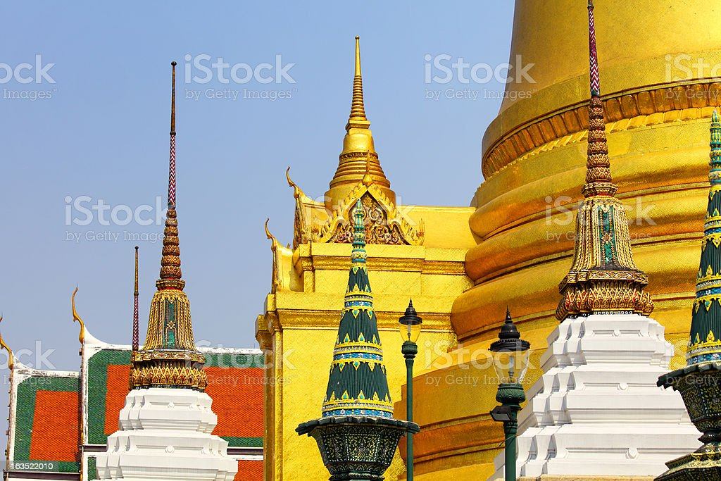 Grand Palace Thailand royalty-free stock photo
