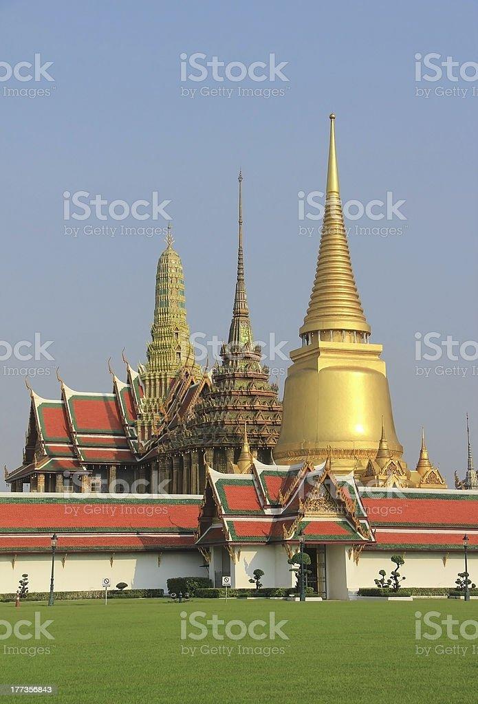 Grand Palace, Thailand stock photo