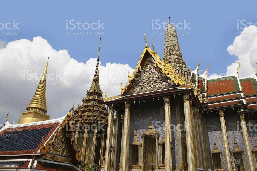 Grand Palace - Thailand royalty-free stock photo