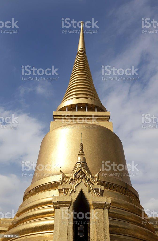 Grand palace,Phra Si rattana Chedi, Bangkok, Thailand royalty-free stock photo