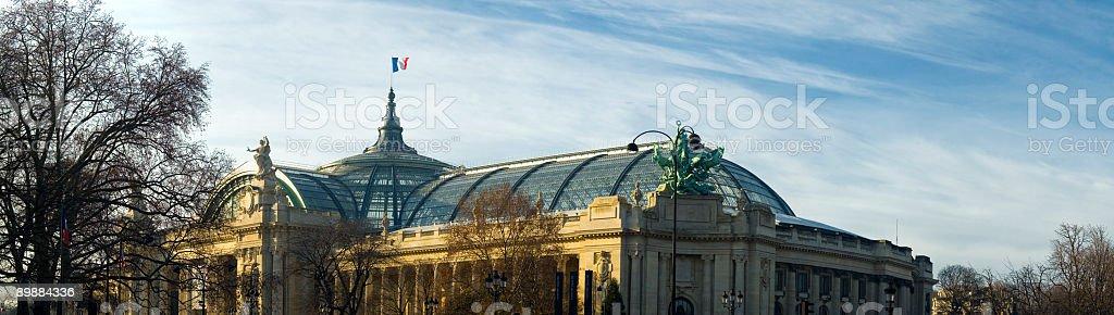 Grand Palais, Champs Elysees, Paris royalty-free stock photo