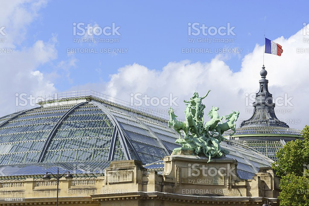Grand Palais in Paris, France stock photo
