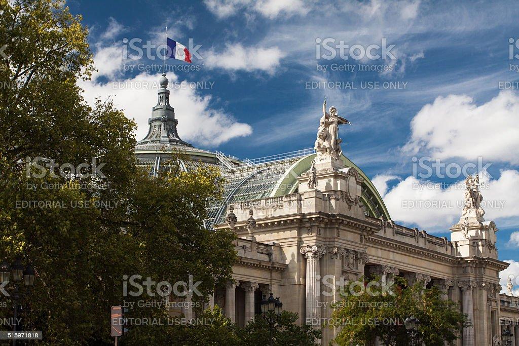 Grand Palais, Paris, France stock photo