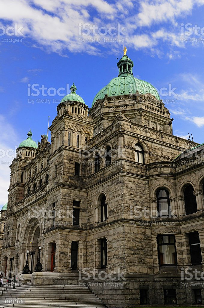 Grand parliament building stock photo