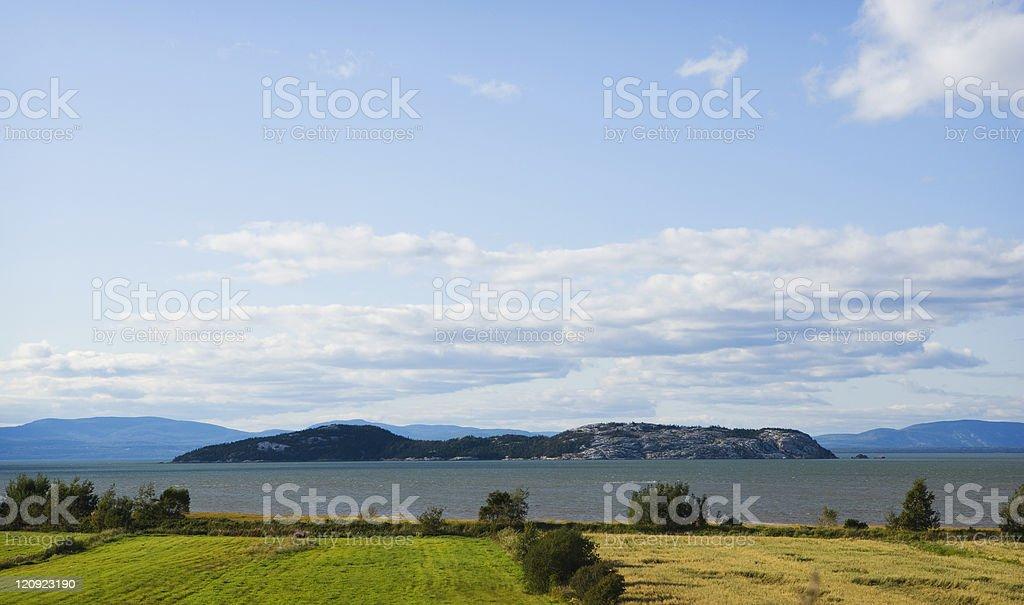 Grand Pelerin Island royalty-free stock photo