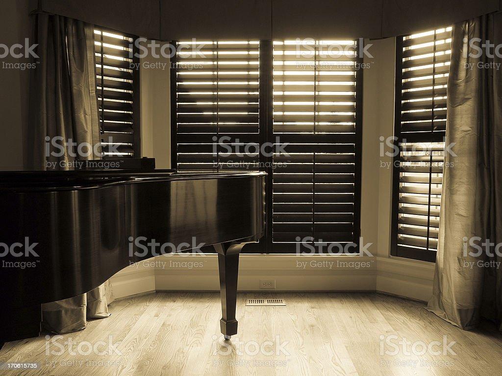 Grand Piano royalty-free stock photo