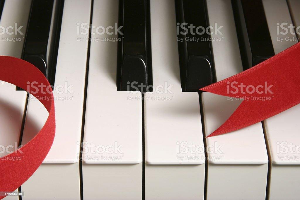 Grand piano. royalty-free stock photo