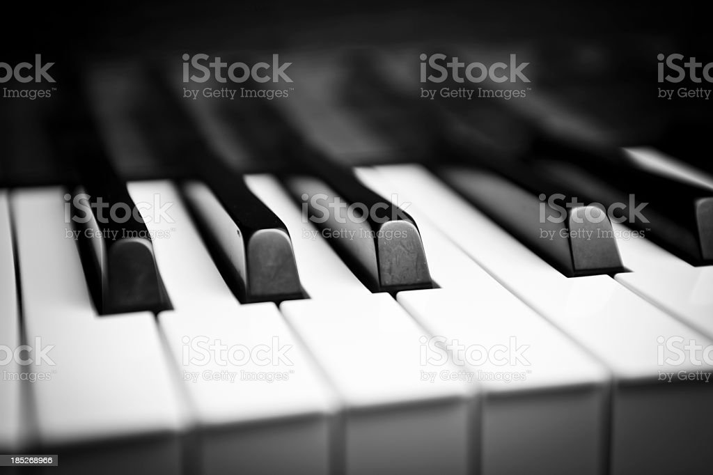 Grand Piano stock photo