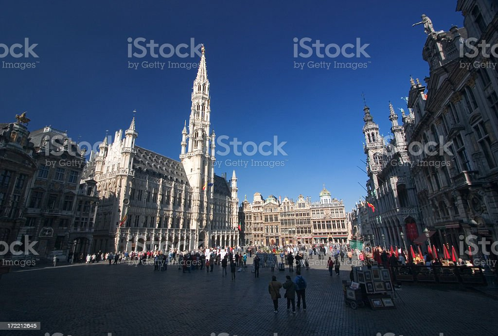 Grand Place, Brussels royalty-free stock photo