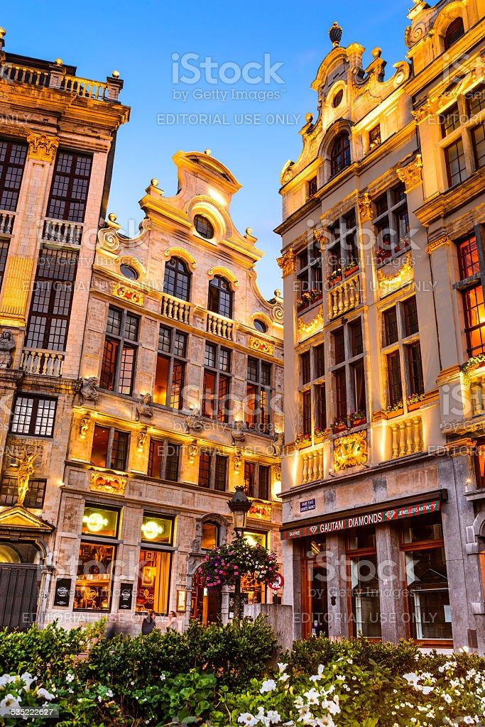 Grand Place, Bruxelles, Belgium stock photo