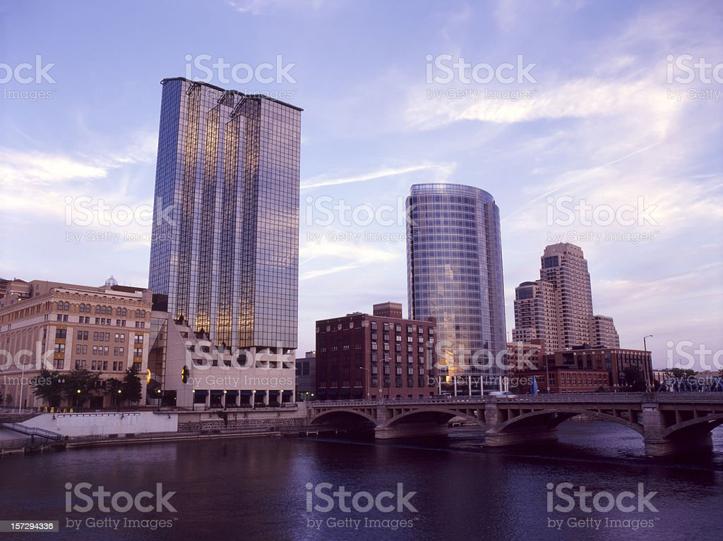 Grand Rapids Downtown XII stock photo