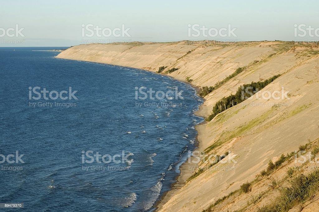 Grand Sable Dunes royalty-free stock photo