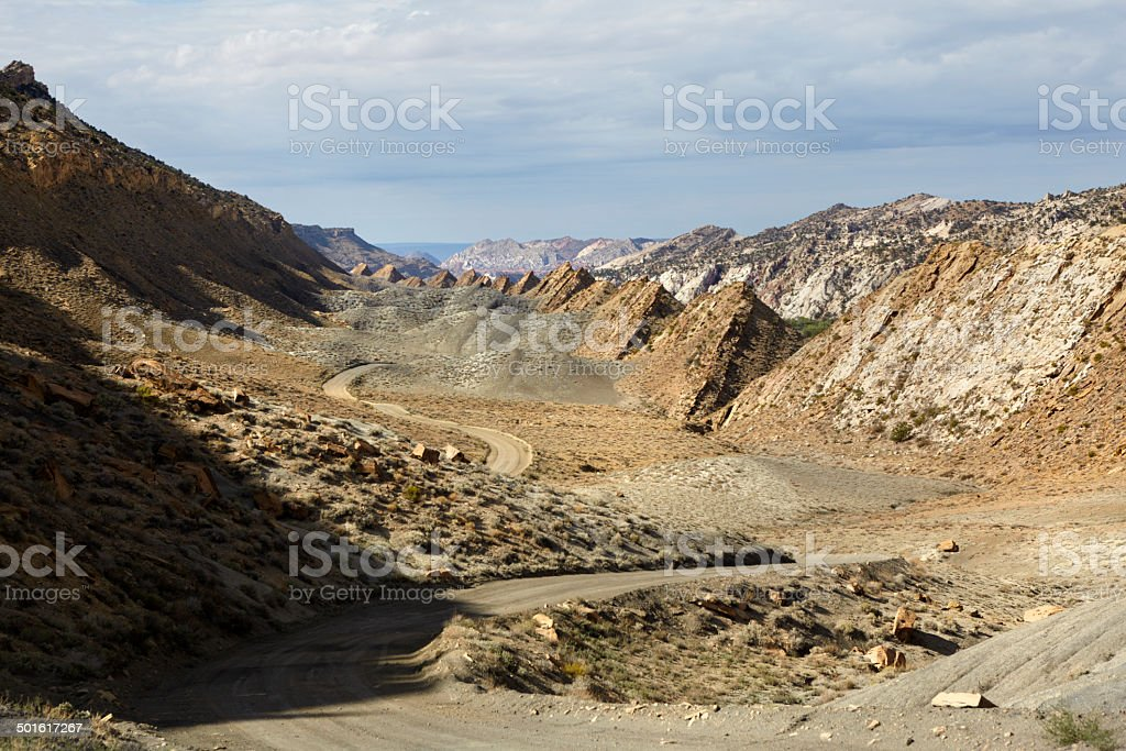 Grand Staircase-Escalante National Monument : Cottonwood Canyon Road stock photo