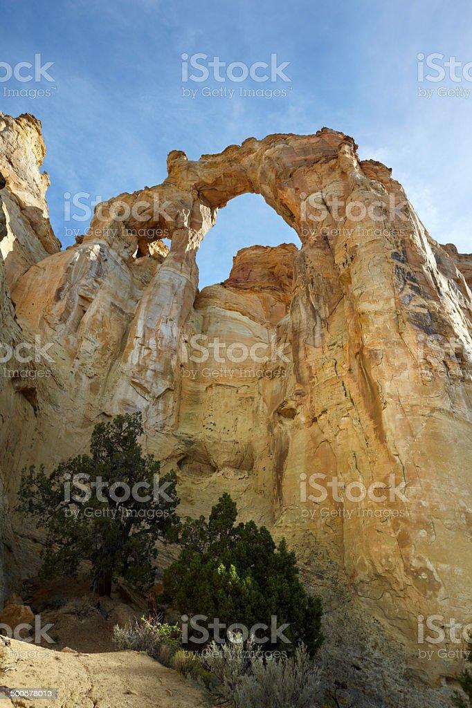 Grand Staircase-Escalante National Monument - Grosvenor Arch stock photo