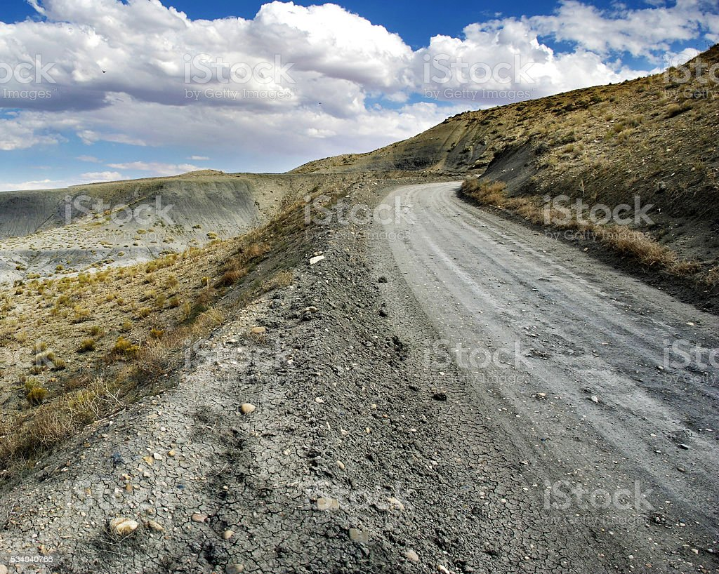 Grand Staircase-Escalante National Monument Road stock photo