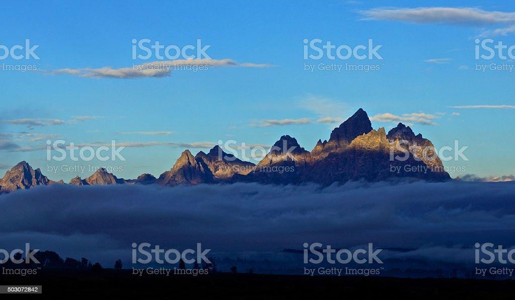 Grand Teton Highlight stock photo