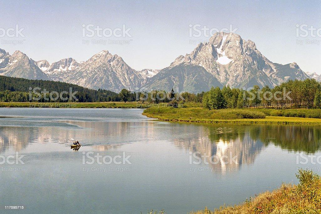 Grand Teton Morning royalty-free stock photo