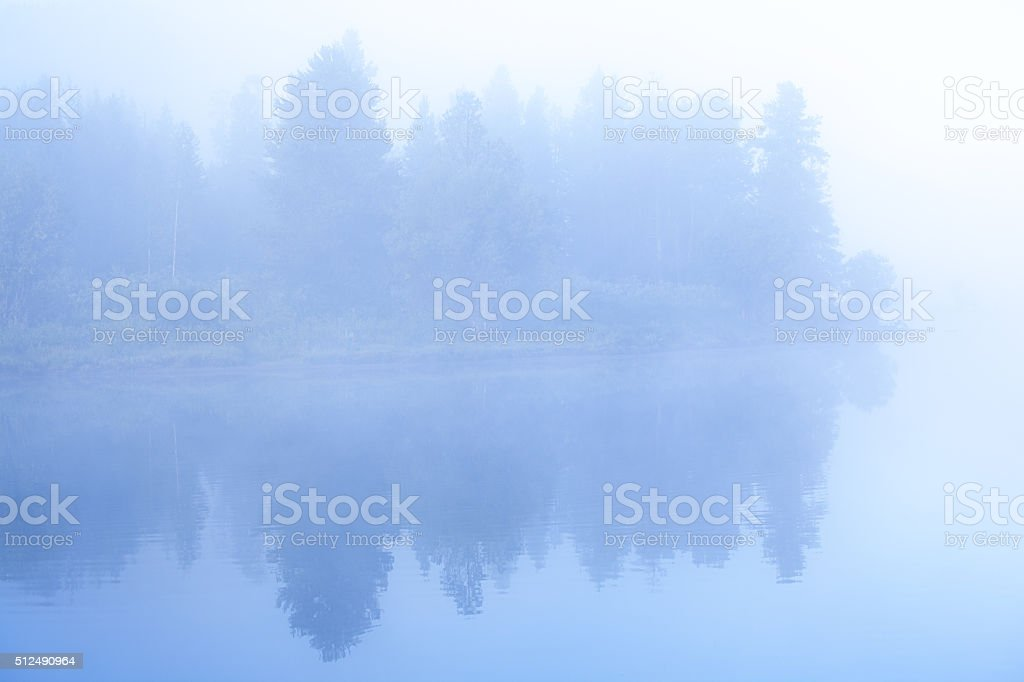 Grand Teton National Park from Oxbow Bend of Snake River stock photo