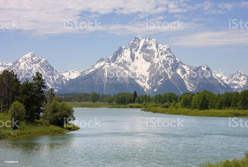 Grand Teton National Park royalty-free stock photo