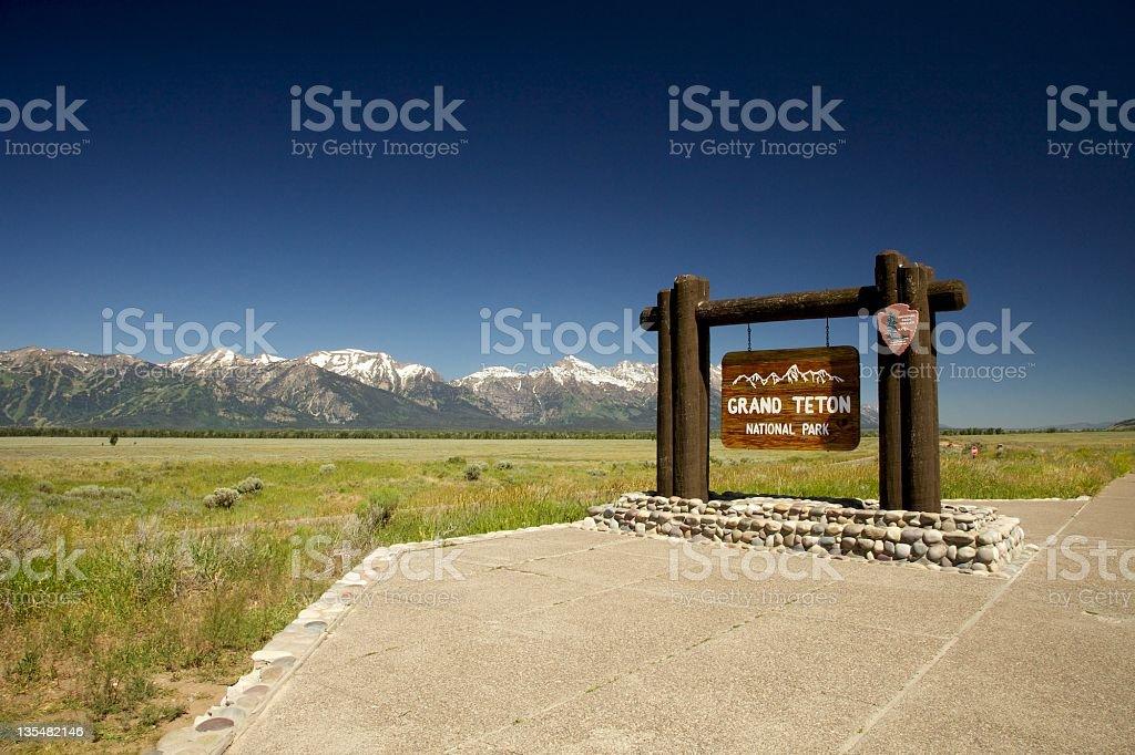 Grand Teton National Park foto royalty-free