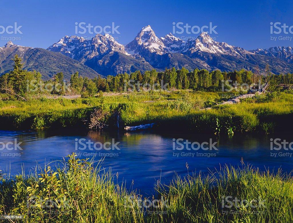 Grand Teton National Park  (P) royalty-free stock photo