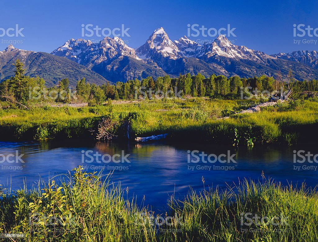 Grand Teton National Park  (P) stock photo