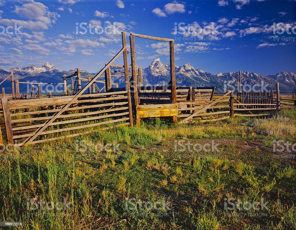 Grand Teton National Park  (P) stock photo